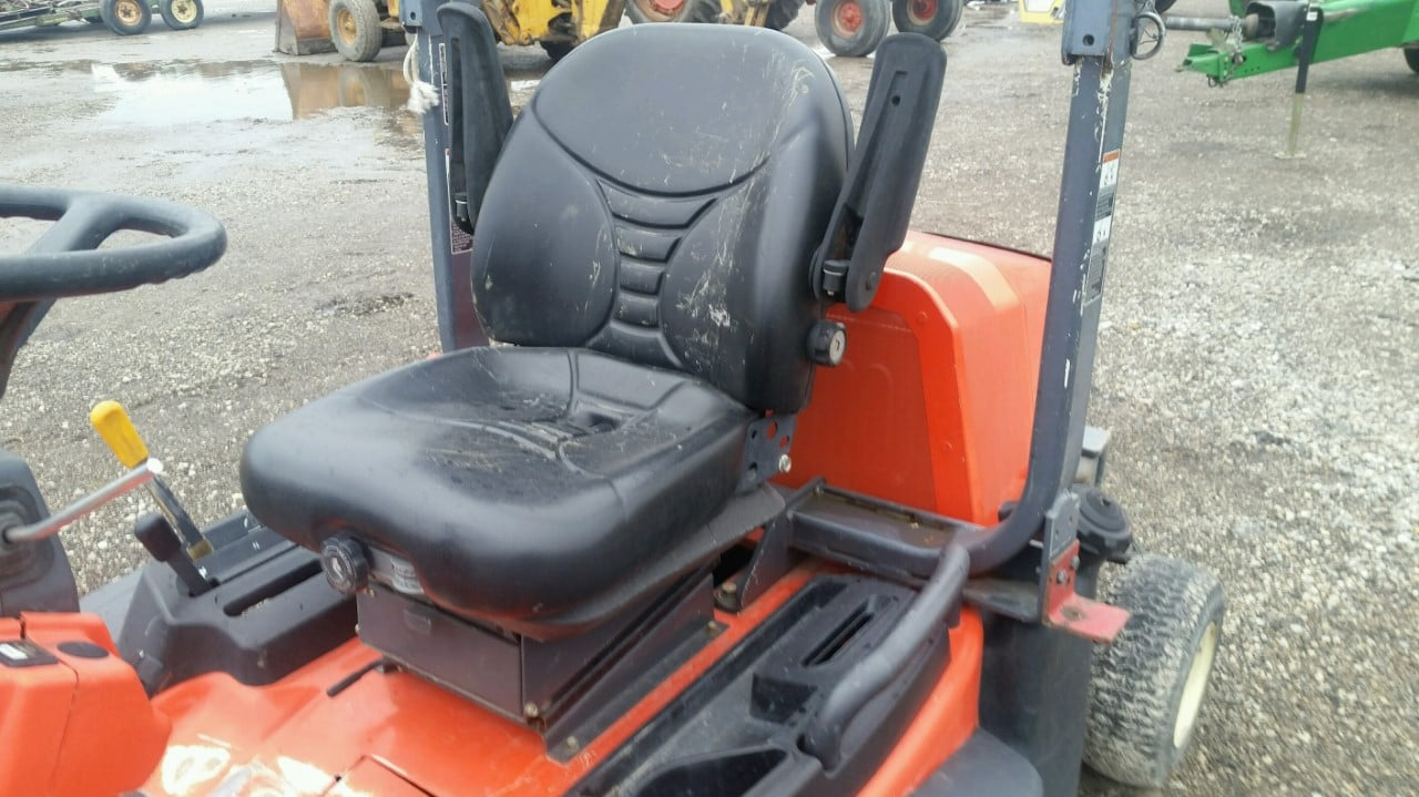Kubota Seat Replacement : Black bottom replacement cushion for kubota commerical