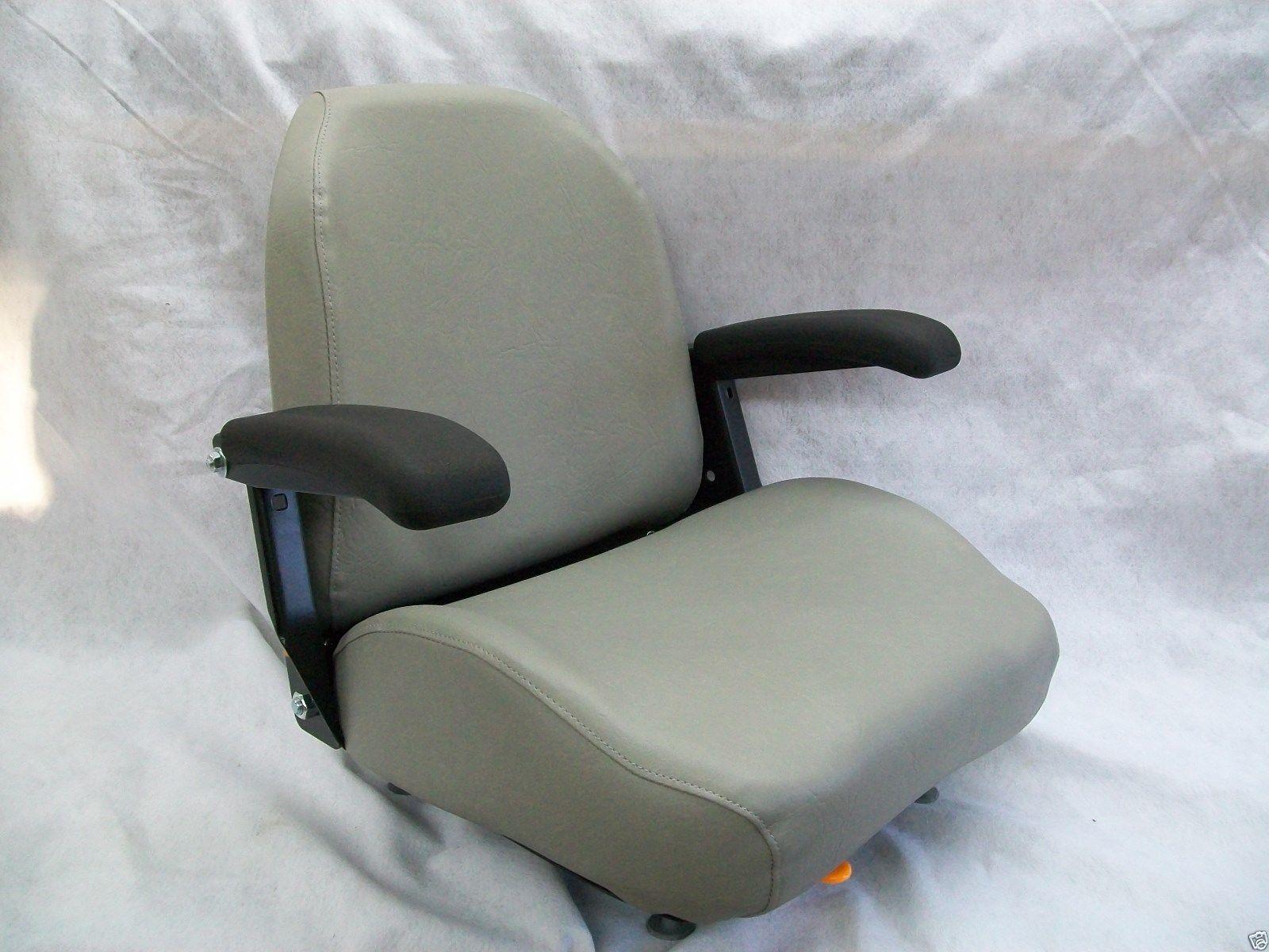Snapper Mower Seat : Gray high back seat bunton bobcat dixie snapper toro
