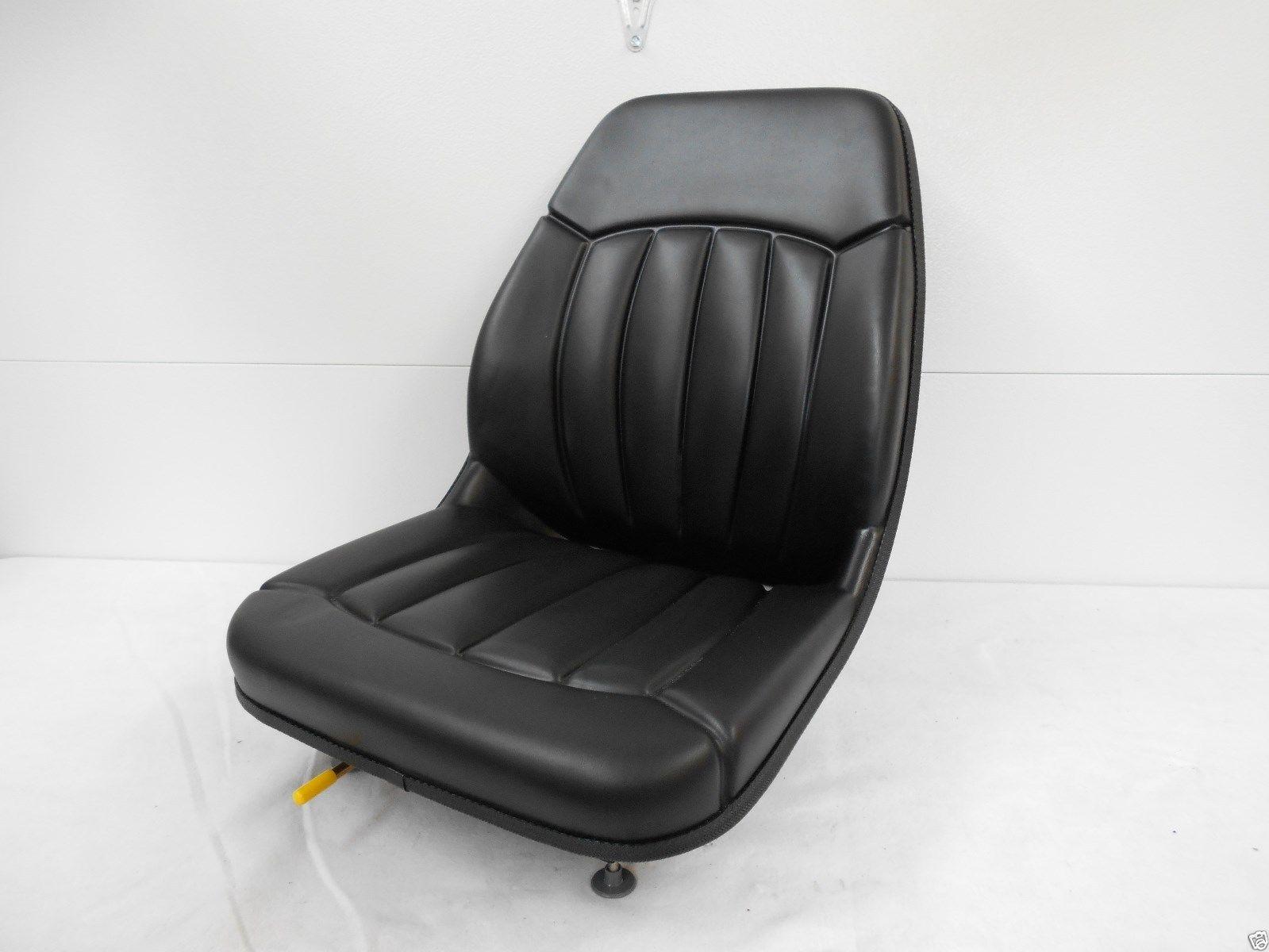 HIGH BACK BLACK SEAT BOBCAT T110T140T180T190T200T250T300 SKID STEER