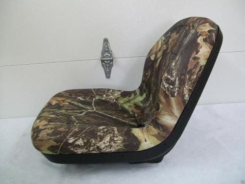 John Deere 950 Tractor Seat : High back camo seat fits  john