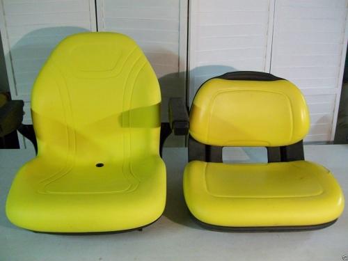 320 John Deere Replacement Seat : Yellow seat for john deere r