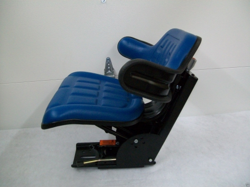 5600 Ford Tractor Seat : Suspension seat ford tractor blue