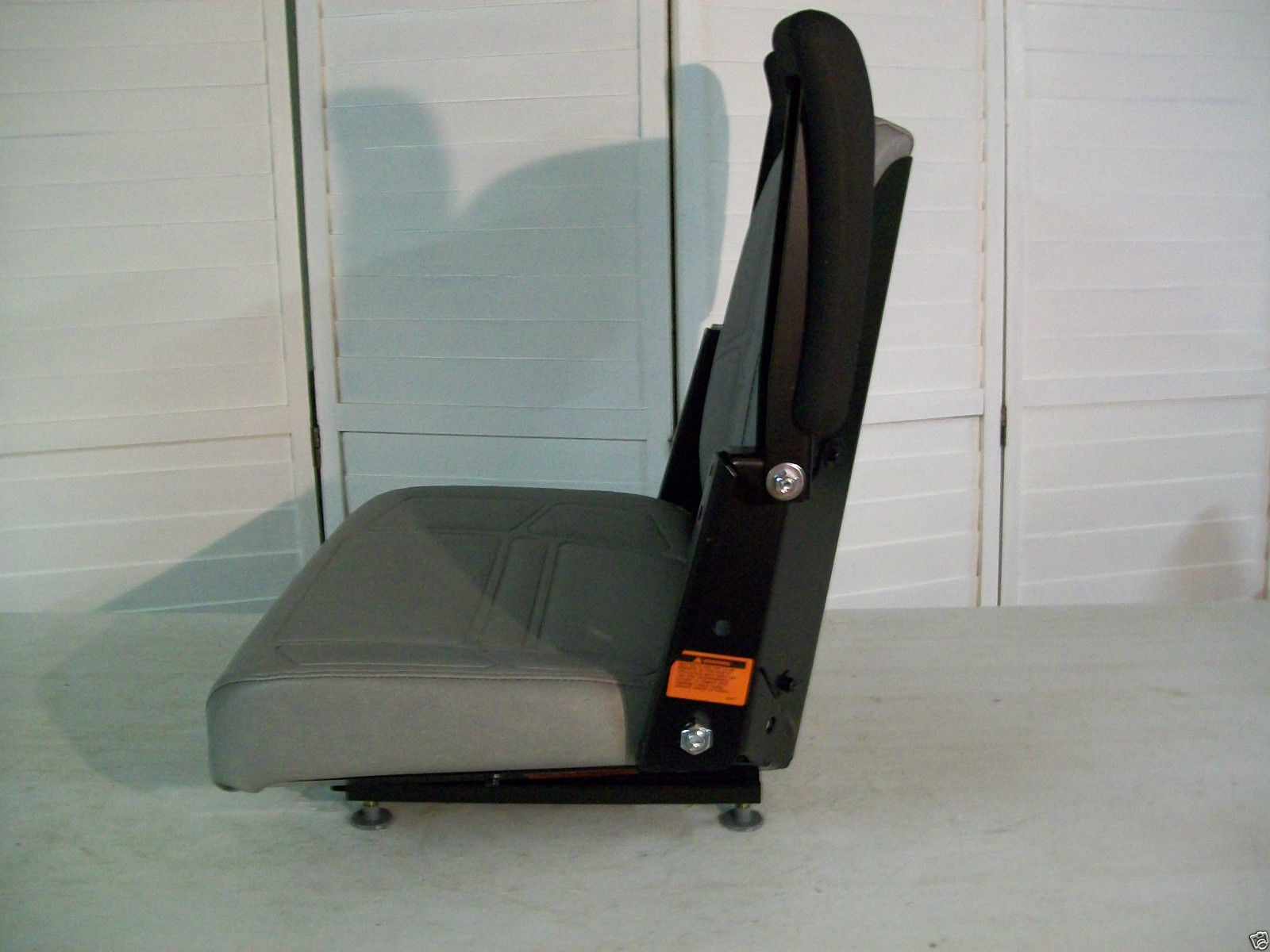 Snapper Lawn Mower Seat : Gray high back seat bunton bobcat dixie snapper toro