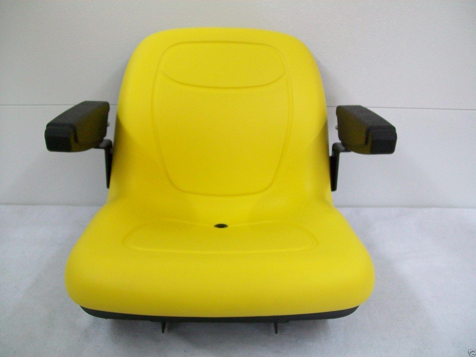 John Deere 950 Tractor Seat : High back yellow seat fits  john
