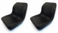 2-Black-HIGH-BACK-Seats-for-John-Deere-Gator-XUV-620i-850D-550-550-AIB2-152925291894
