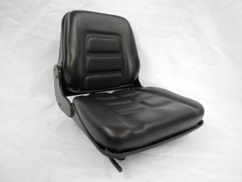 BLACK-FOLD-DOWN-SEAT-FORKLIFT-CLARK-CAT-HYSTERYALETOYOTA-CROWN-NISSAN-NP-172366446304