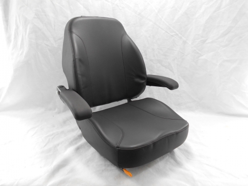 Gravely Replacement Seat : Black ultra high back seat c fits gravely dixon ztr
