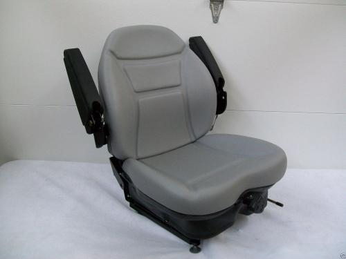 Gray Suspension Seat Lastec Articulator Toro