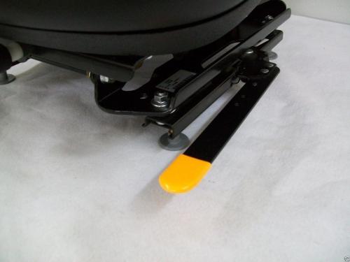 John Deere Z Suspension Seat : Yellow suspension seat hustler exmark toro bobcat