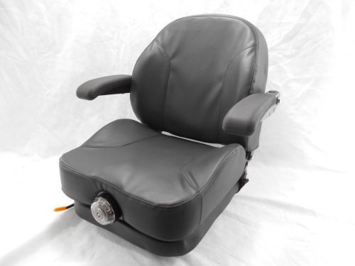 Gravely Replacement Seat : Black ultra ride suspension seat i m fits gravely cub
