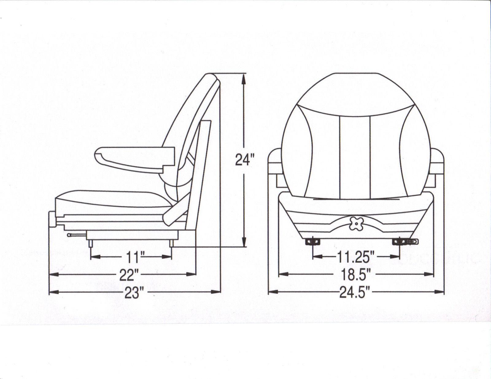 Suspension seat w arm rests ztr zero turn mower grasshopper suspension seat w arm rests ztr zero turn pooptronica