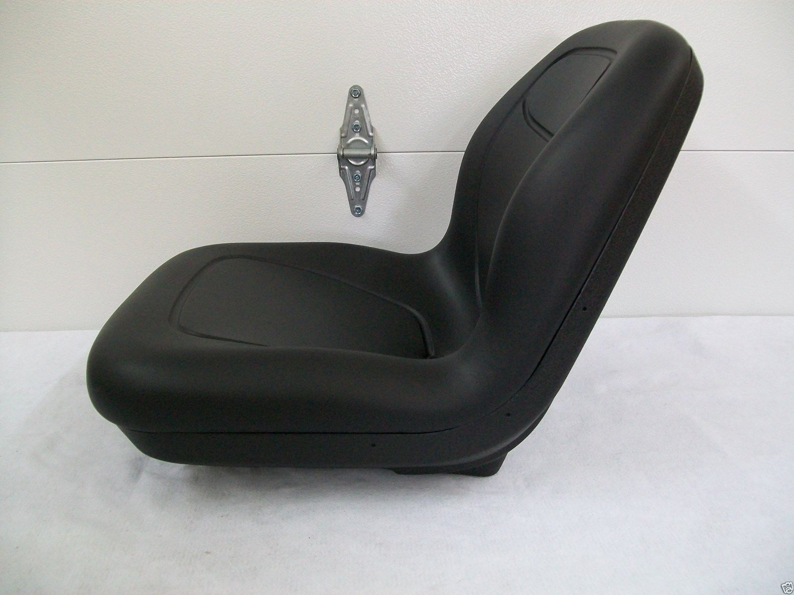 John Deere 1050 Tractor Seat : High back black seat fits  john