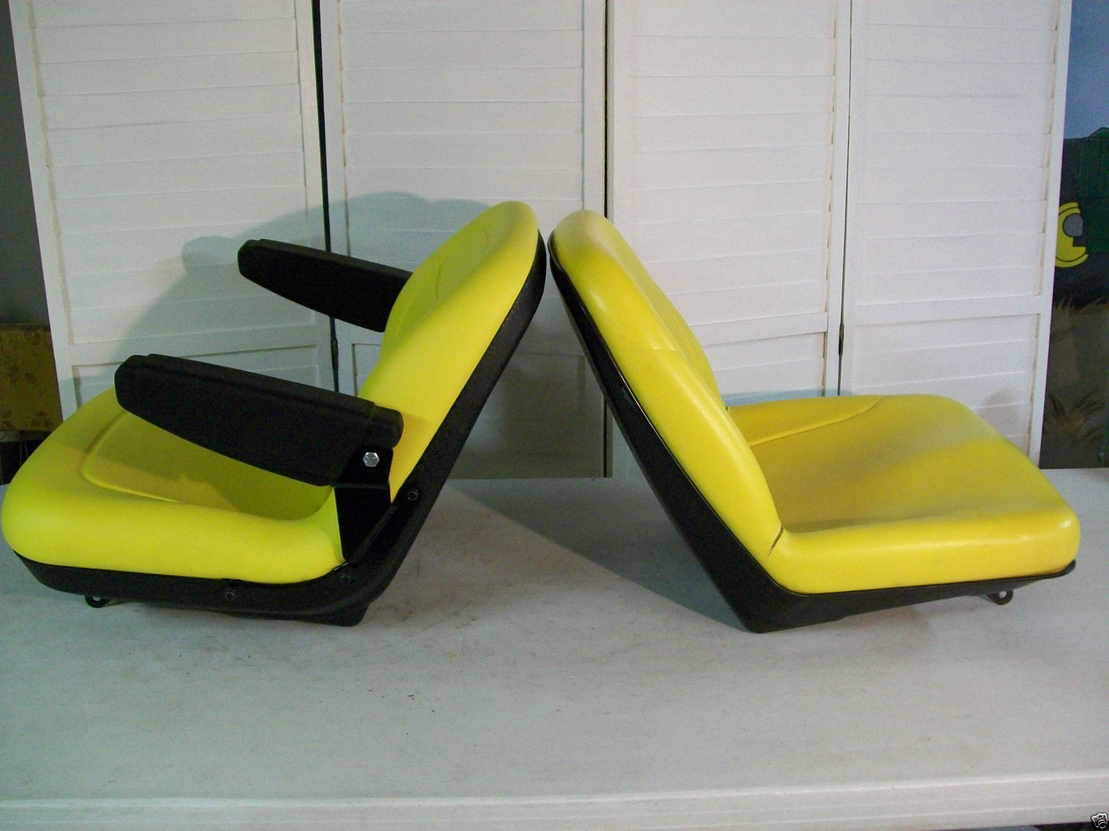 YELLOW SEAT JOHN DEERE X485X495X575X585X595X720X724X740X748X729749 KQ 161197643756 3 yellow seat john deere x485, x495, x575, x585, x595, x720, x724 john deere x585 wiring diagram at highcare.asia