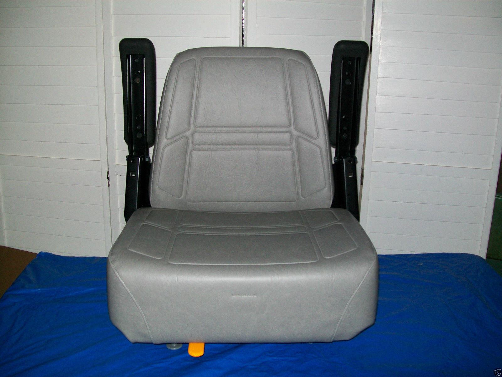Snapper Mower Seat : Gray high back seat exmark bunton bobcat dixie snapper