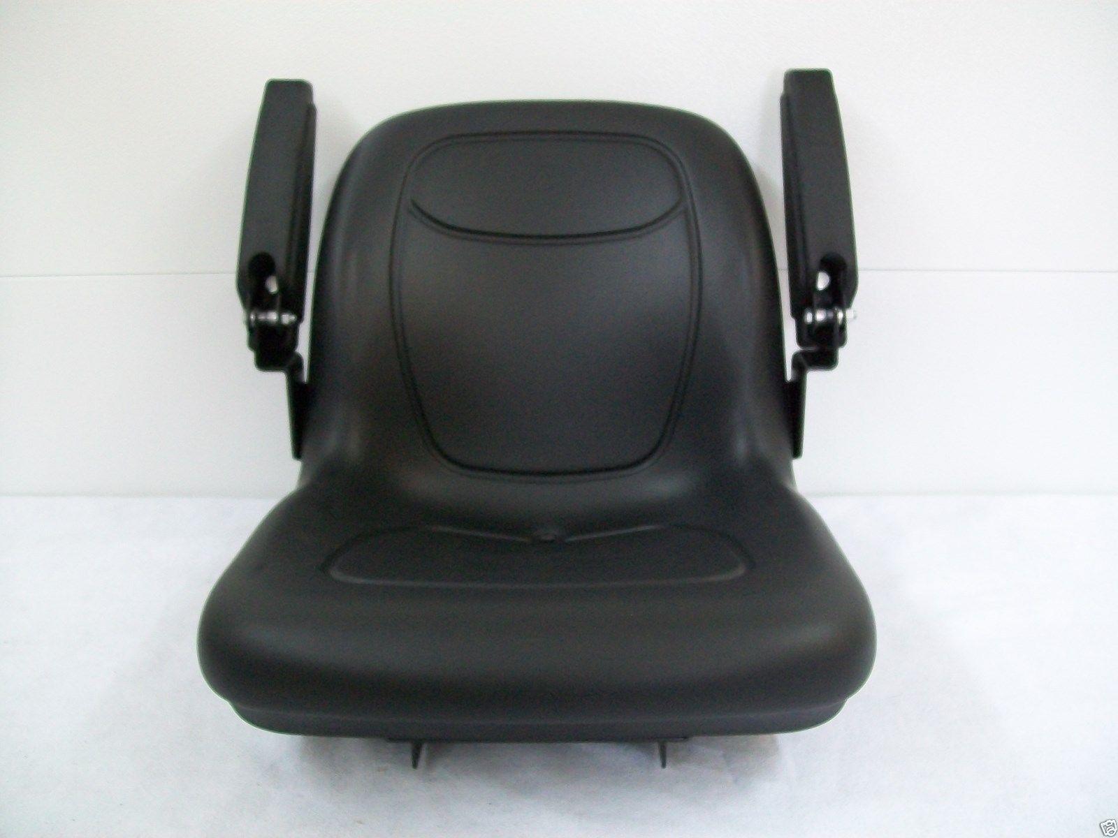 John Deere 950 Tractor Seat : High back black seat fits  john
