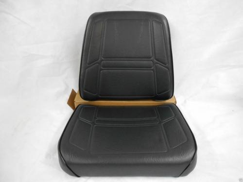 Kubota Seat Replacement : Brown fabric seat cushion set john deere