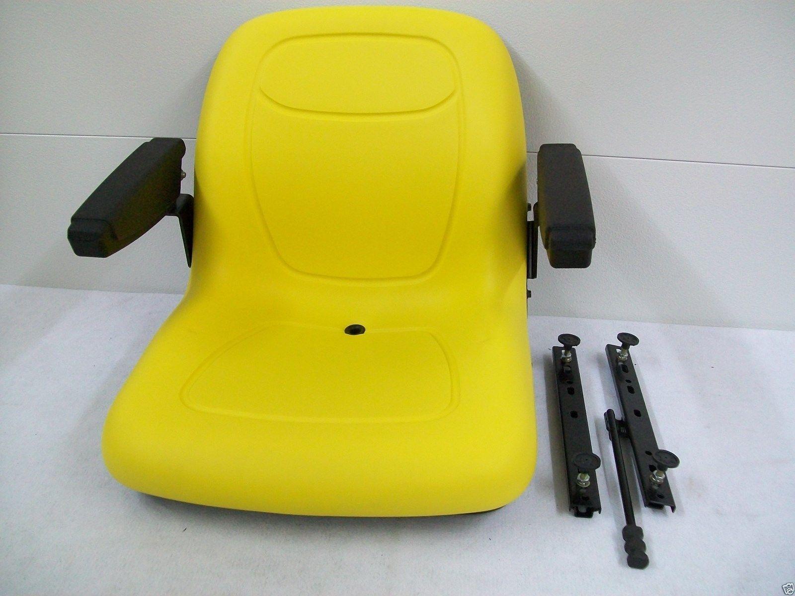 YELLOW SEAT KUBOTA HUSTLER EXMARK TORO BOBCAT BUNTON JOHN