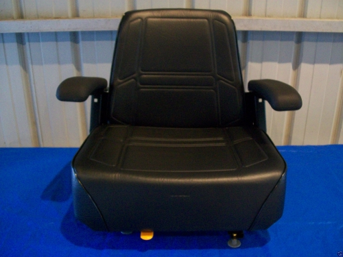 Snapper Lawn Mower Seat : Black high back seat kubota zd zero turn mowers