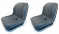 2-New-Grey-HIGH-BACK-SEATS-John-Deere-GATORS-FITS-MANY-MAKES-MODELS-AIG2-173189093669