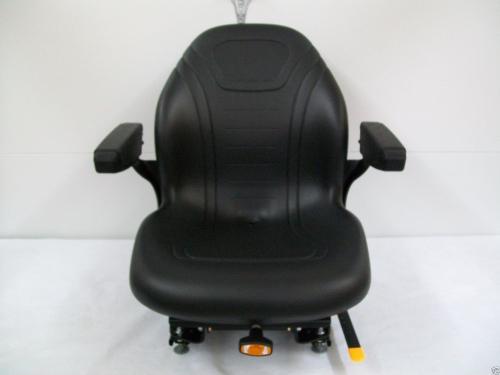 Gravely Replacement Seat : Black suspension seat hustler exmark scag grasshopper
