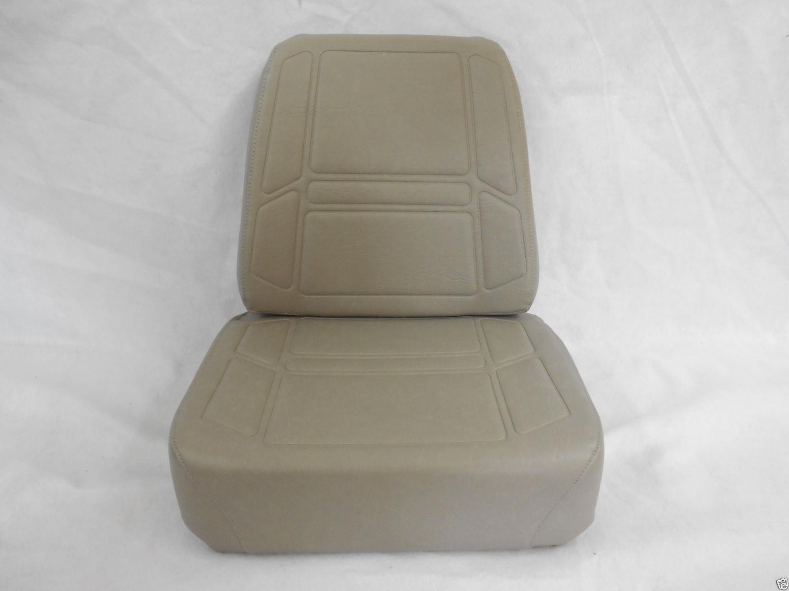 EXMARK TORO REPLACEMENT GRAY CUSHION SEAT SET EXTRA THICK BOTTOM CUSHION ZB Seat Warehouse