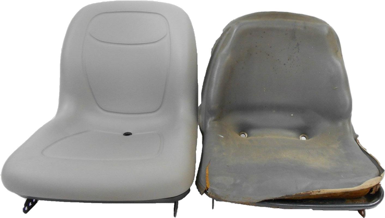 NEW GRAY SEAT FOR MEY FERGUSON GC2300 SUB COMPACT TRACTOR #AA Gc Mey Ferguson Wiring Diagram on