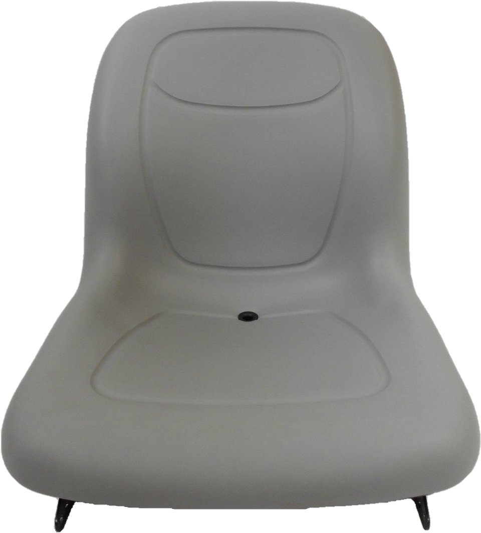 NEW GRAY SEAT FOR MASSEY FERGUSON GC2300 SUB COMPACT TRACTOR #AA