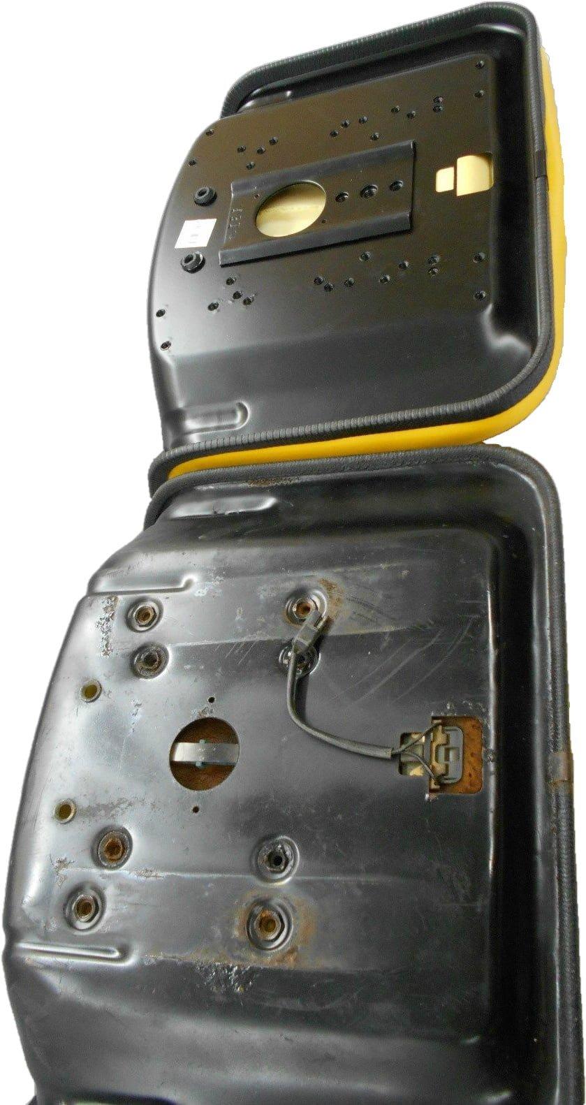 YELLOW SEAT JOHN DEERE 130, 160, 165, 214, 316, 318, 322, 330, 332, on john deere 4 wheeler, john deere electrical parts, john deere ignition wiring diagram, john deere five wheel, john deere parts catalog,