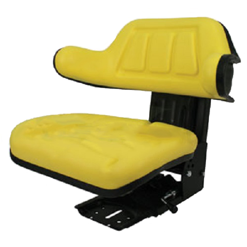 YELLOW WRAP AROUND BACK TRACTOR SUSPENSION SEAT JOHN DEERE 1020, 1530, on john deere 1530 lights, john deere 1530 parts, john deere 1530 steering, new holland 1530 wiring diagram,