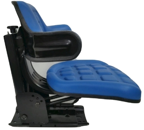 Tractor Seat Ford Blue Waffle  Farmtractors  Universal Fit  Spring Suspension  Idp