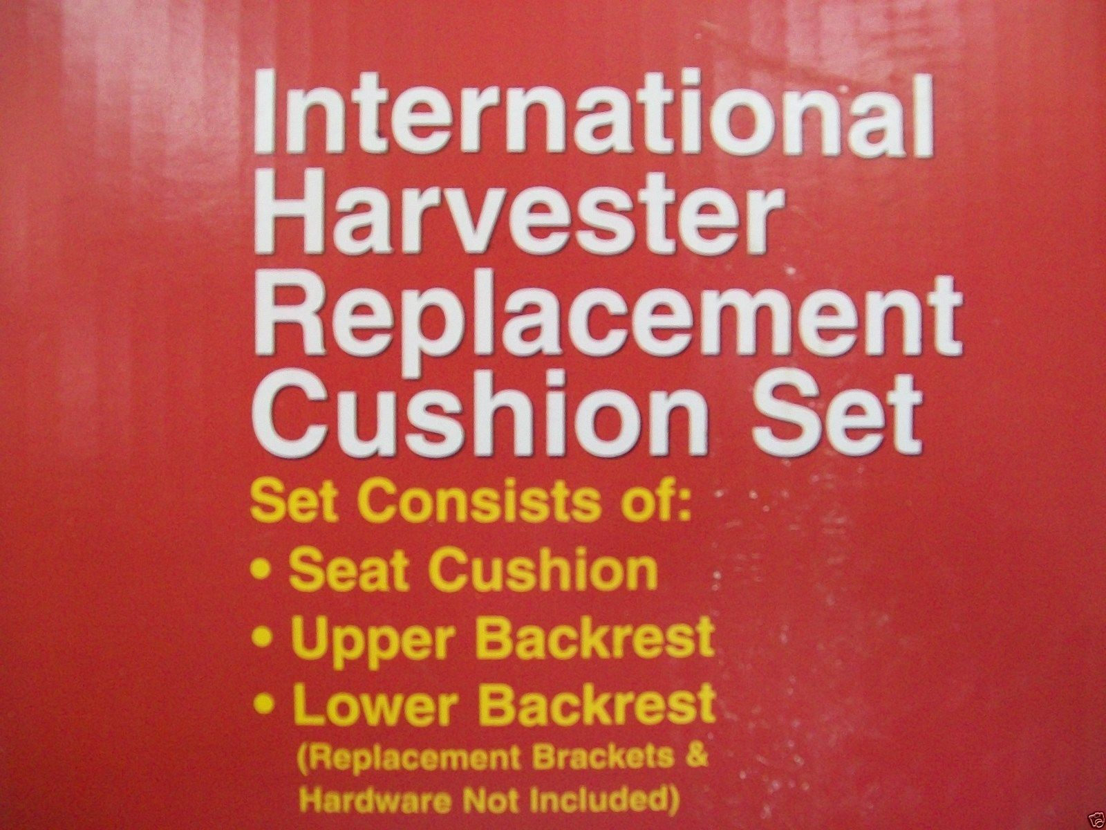 3 Piece Seat Cushion Set Ih International Tractors 706 806 856 Tractor Parts Diagram Free Download Wiring 826 And Farmall Cy