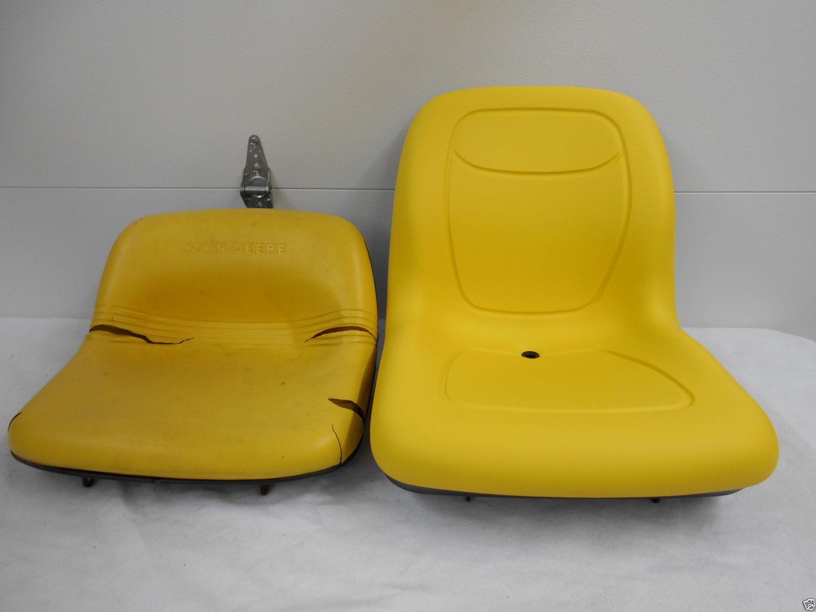 HIGH BACK YELLOW SEAT,JOHN DEERE GT242, GT262, GT275, LX172, LX173, LX178,  LX188, LX186, LAWN MOWER JD #NA