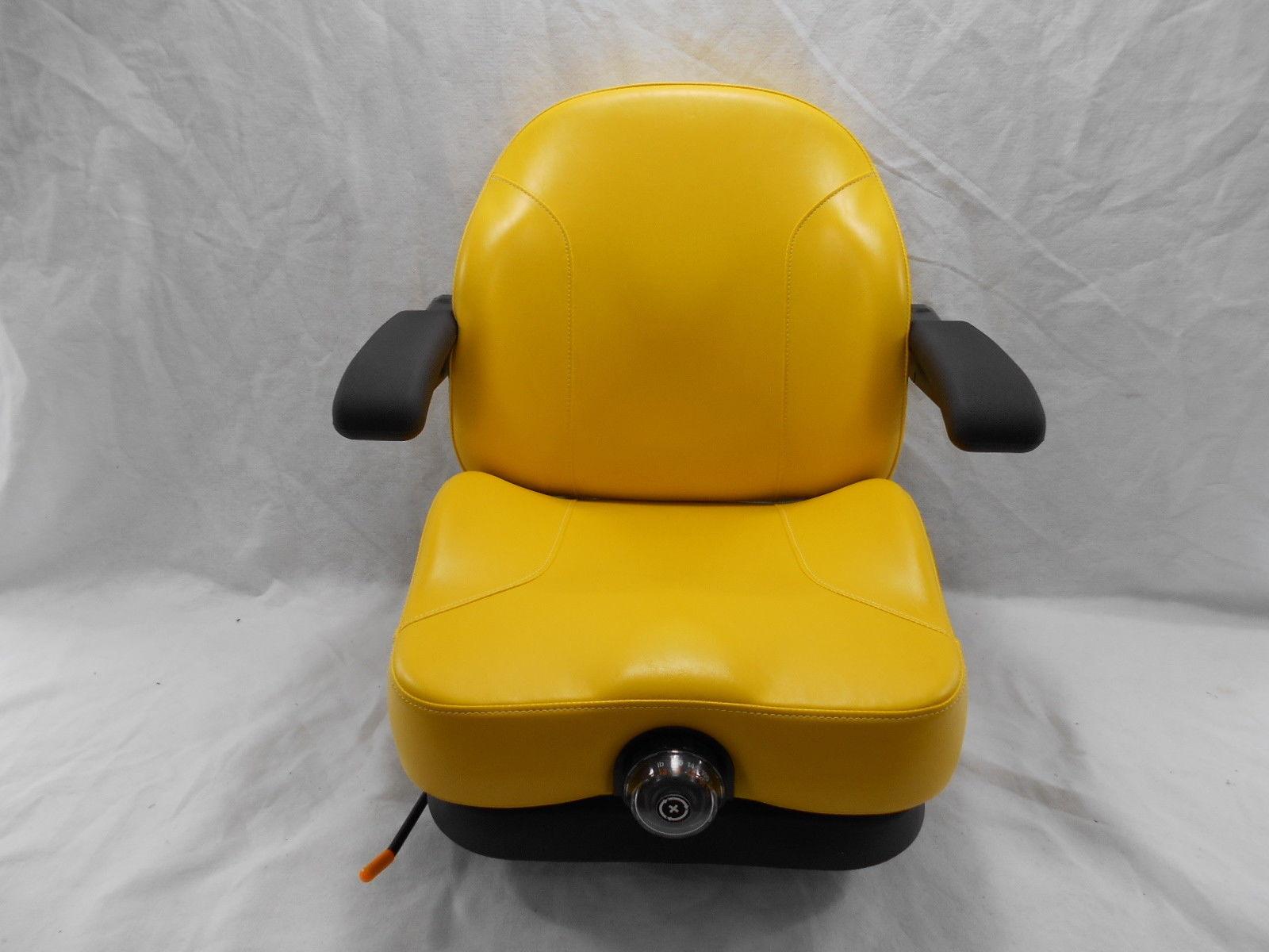 YELLOW ULTRA RIDE SUSPENSION SEAT I3M FITS JOHN DEERE ZERO TURN