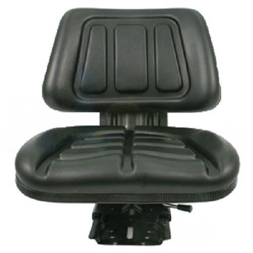 BLACK FULLBACK    TRACTOR    SUSPENSION SEAT    FORD     NEW HOLLAND