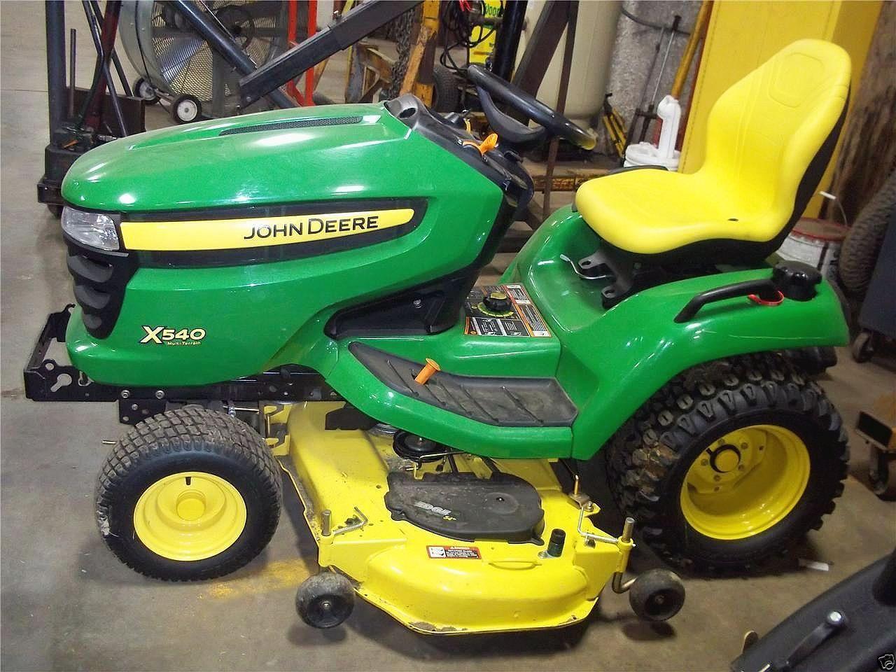 X530 GARDEN TRACTORS #KI. ;  YELLOW SEAT FOR JOHN DEERE ...