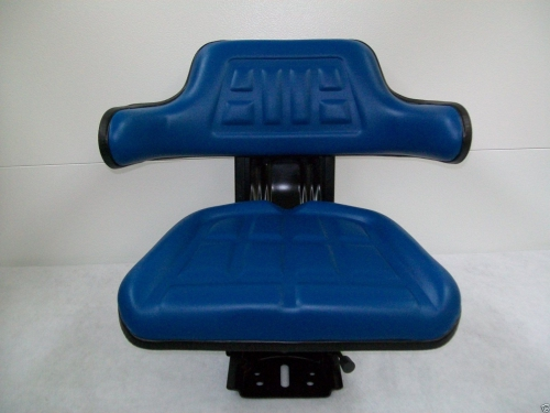 Suspension Seat Ford Tractor Blue Ao X