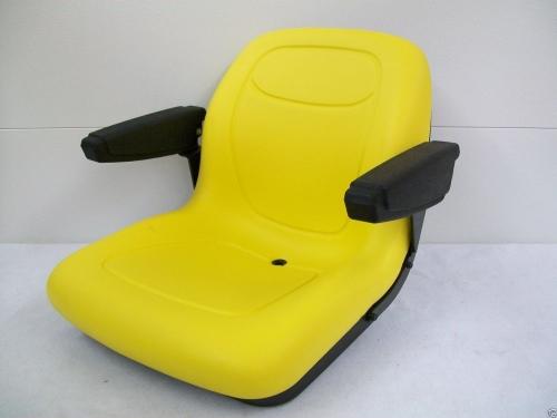 320 John Deere Replacement Seat : Yellow seat john deere f