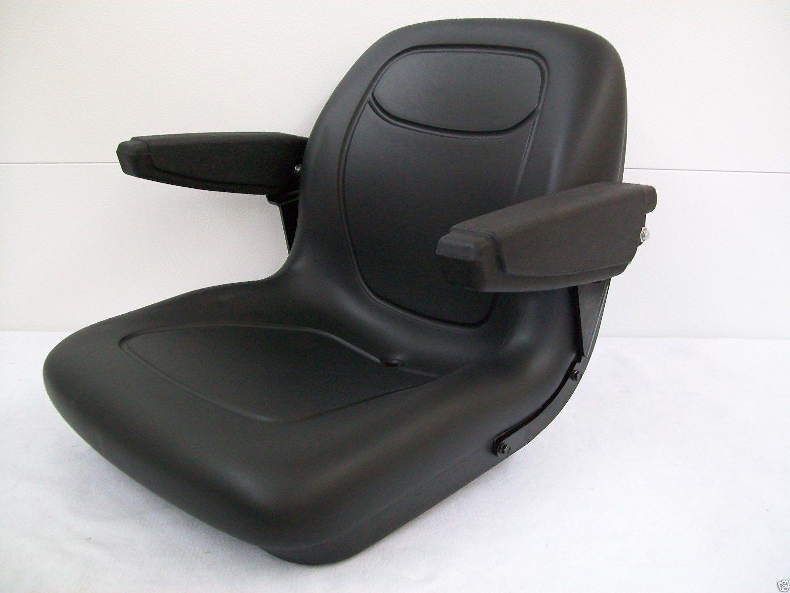 Backhoe Tractor Seat : Black seat kubota l