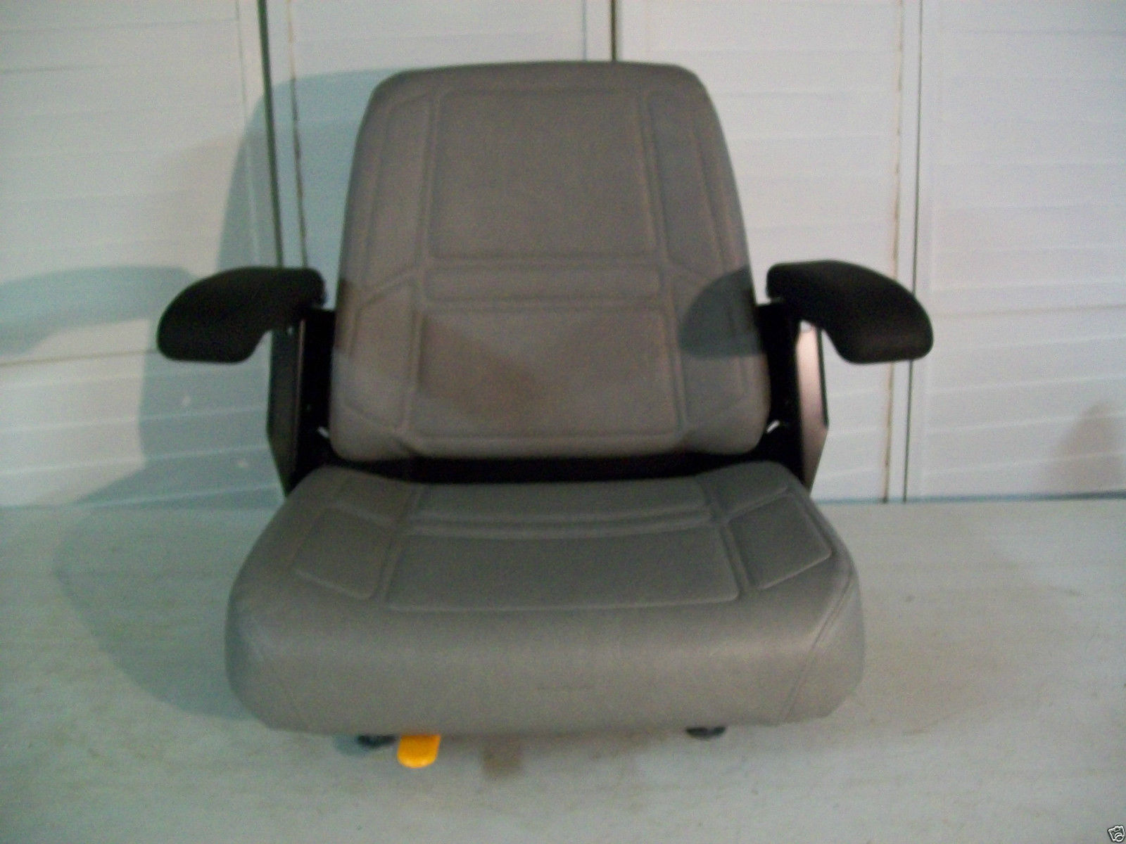 Gray High Back Seat Bunton Bobcat Dixie Snapper Toro