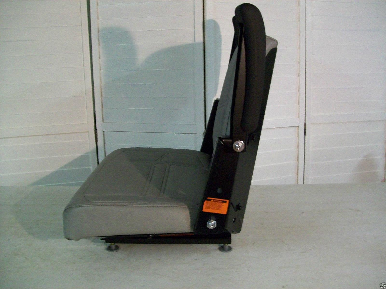 Zero Turn Mowers For Sale >> GRAY HIGH BACK SEAT BUNTON, BOBCAT, DIXIE, SNAPPER, TORO, EXMARK ZERO TURN MOWER #LN - Seat ...
