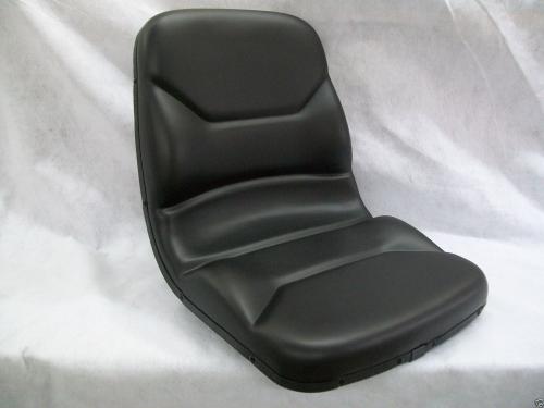 High Back Black seat for Kubota B-Series and L-Series