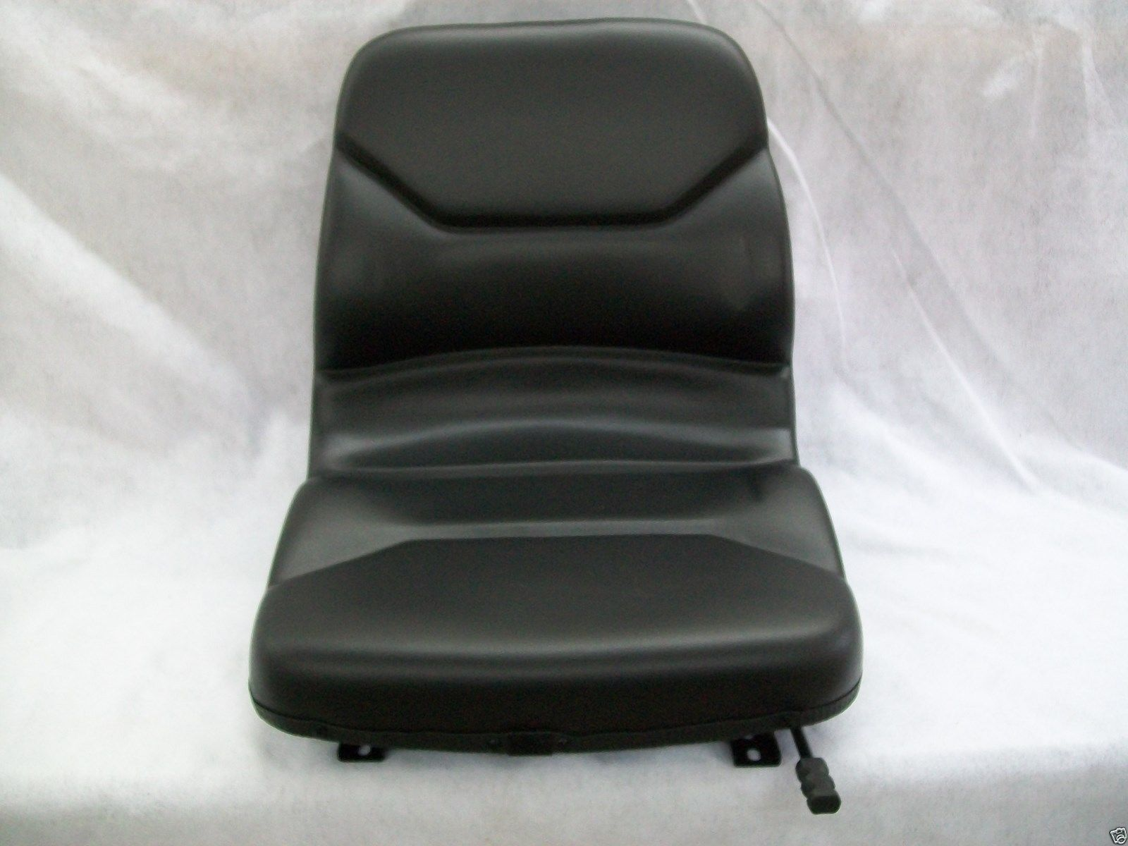 Bobcat Seat Replacement : High back black seat bobcat t