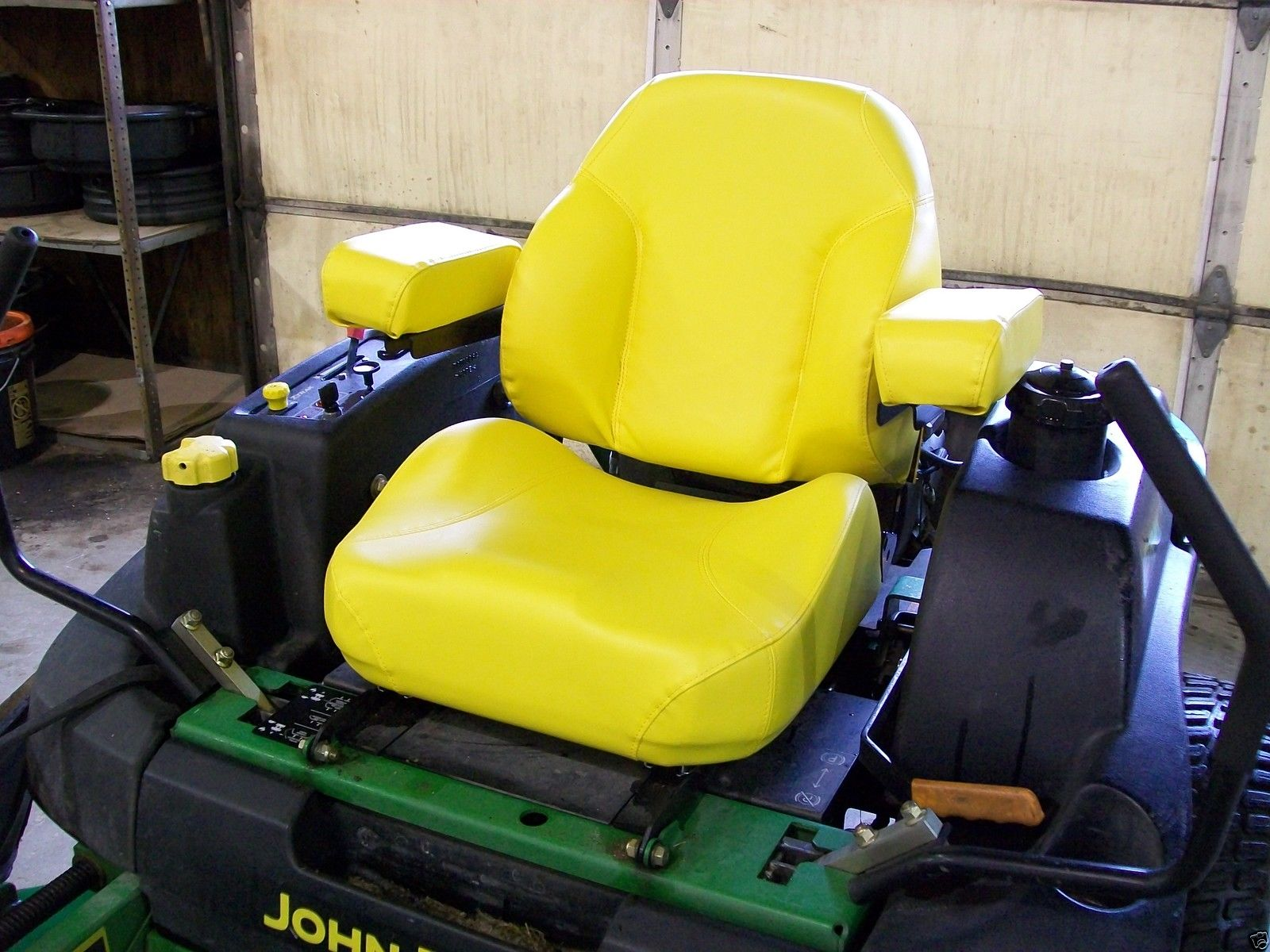better homes and gardens john deere sweepstakes yellow comfort king deluxe seat john deere jd z trak zero 7372