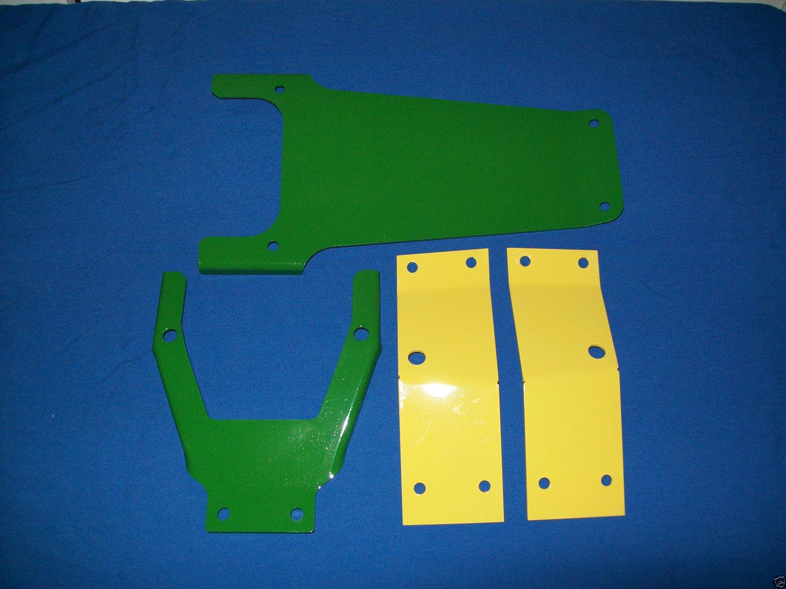 4-PIECE-BRACKETS-JOHN-DEERE-FARM-TRACTOR-SEAT-752046204320402030203010-AG-161120869403
