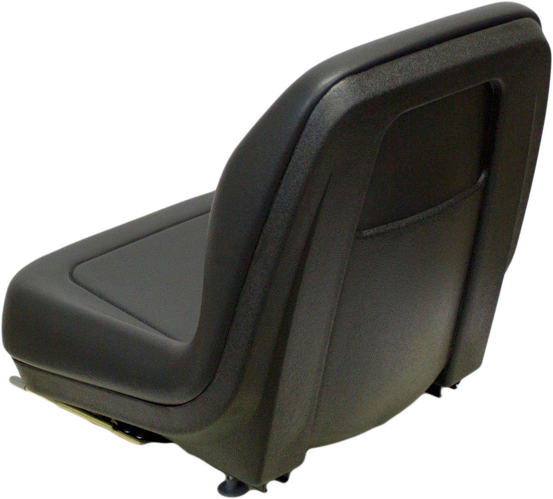 Black Seat Fits John Deere 375 570 575 675 675b 3375 4475 Jd Skid Steer Wiring Diagram 5575 6675 7775 8875 Qh2