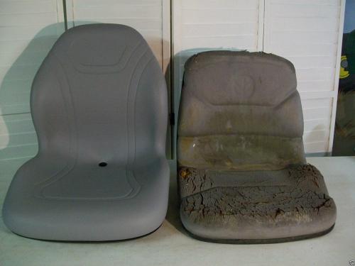 Farmall 31 Compact Tractor : Gray seat fits case ih dx e farmall