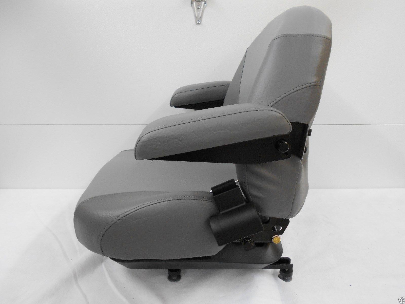 Gravely Replacement Seat : Gray suspension seat hustler exmark toro bobcat