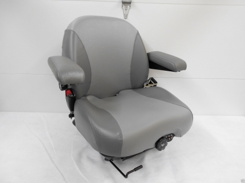 Two Tone Gray Suspension Seat Hustler Exmark Toro