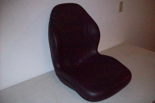 HIGH BACK BLACK SEAT FITS 650,750,850,950,/& 1050 JOHN DEERE COMPACT TRACTOR #DM