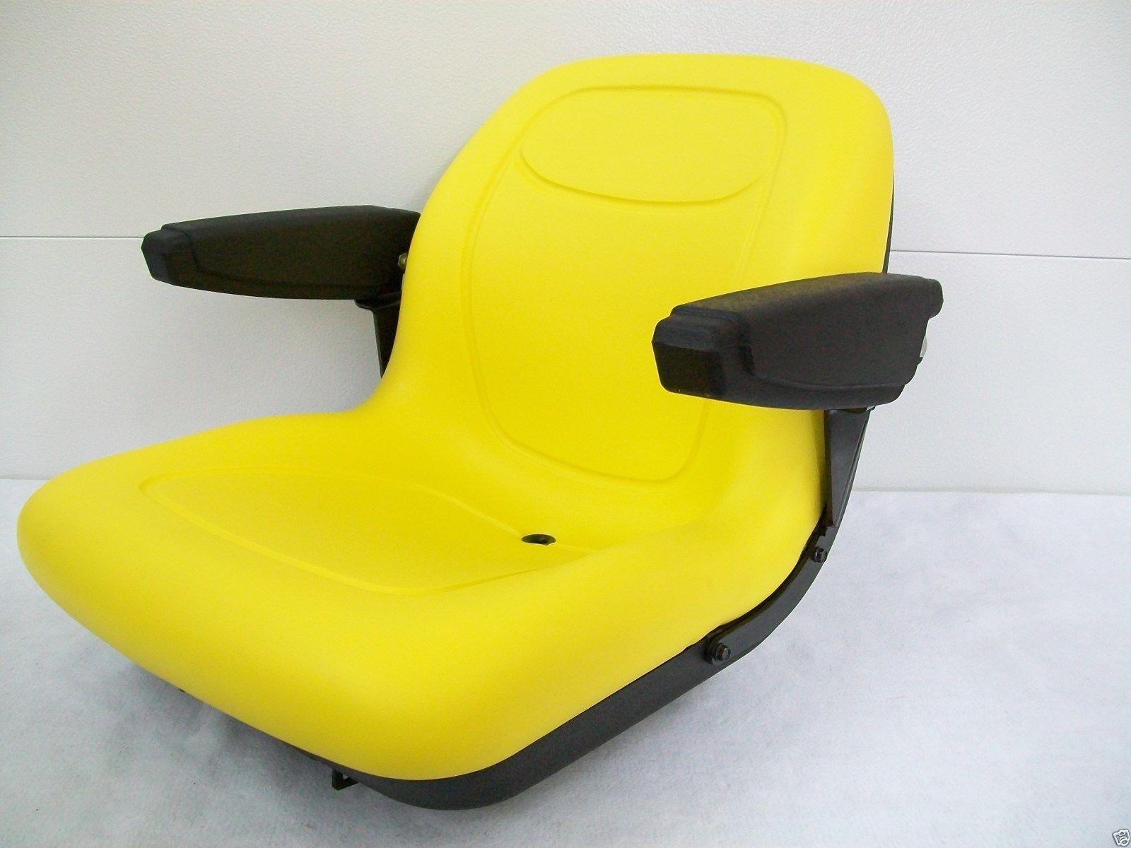 John Deere 1050 Tractor Seat : High back yellow seat fits  john